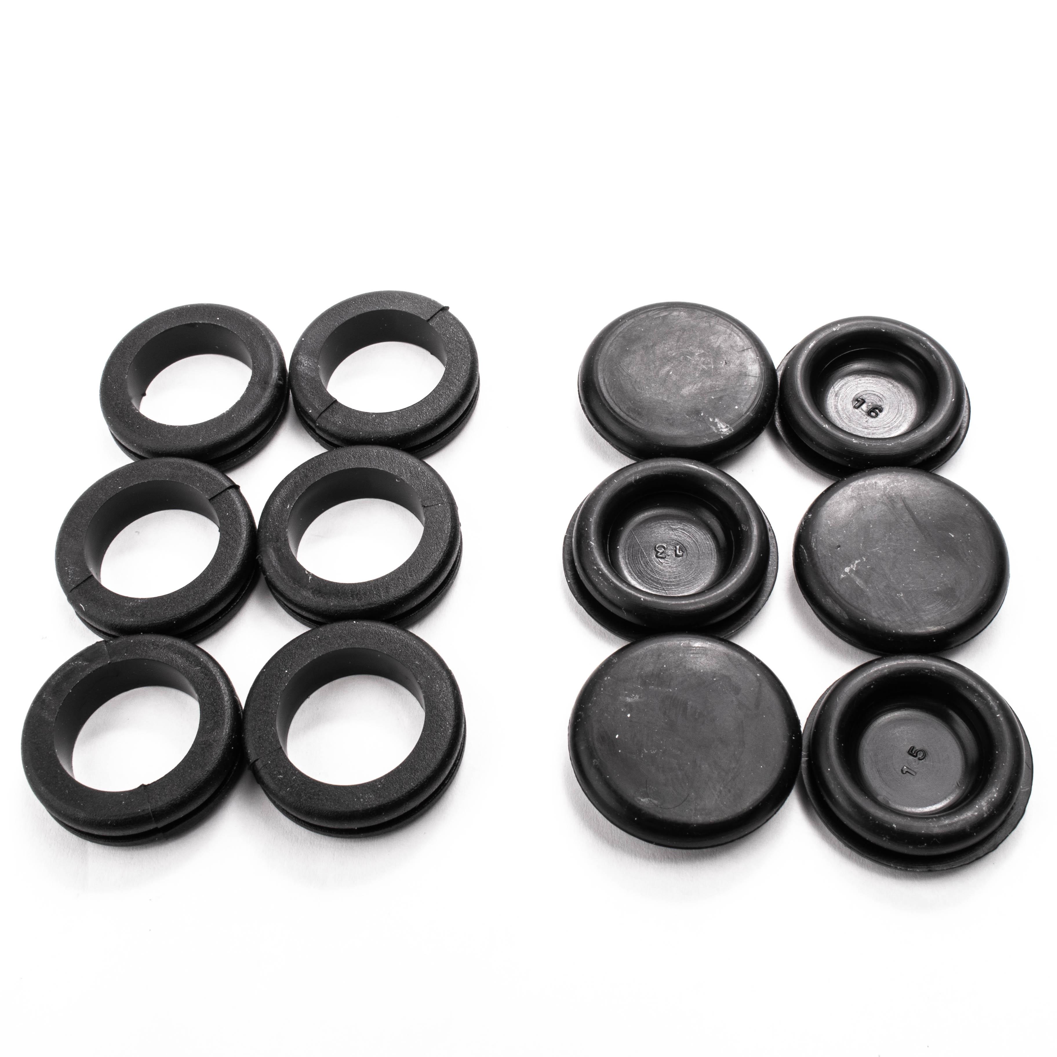 20 Schneider Electric 20mm PVC Grommets for mains metal back box grommet